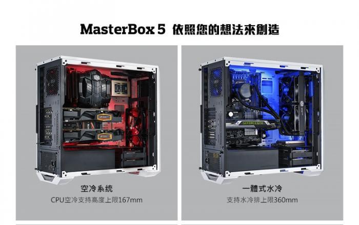 酷 碼 masterbox 5 特 仕 版