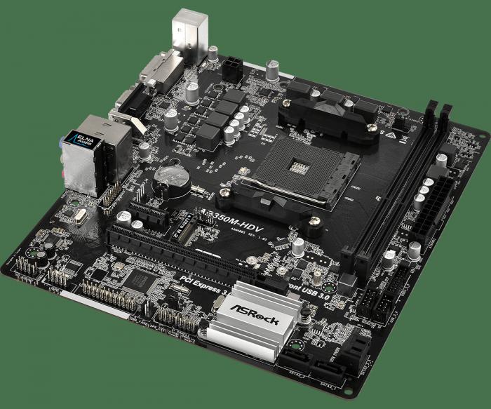 華擎 AB350M-HDV R4.0 蜂巢工業包