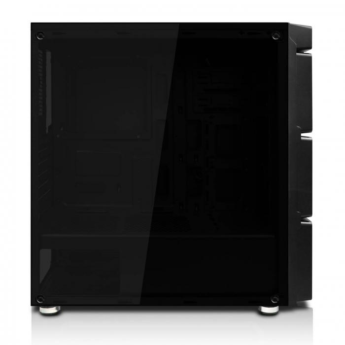 aibo 合金彈頭 3發光風扇 (玻璃側板) 紅光 不可裝光碟機 預購