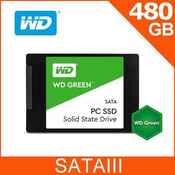 WD 綠標 480GB