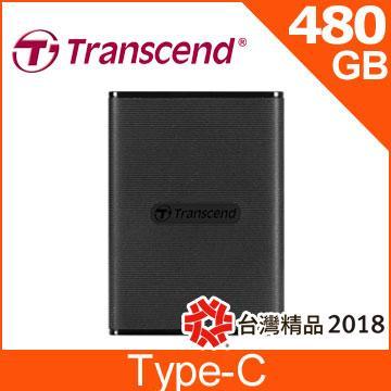 創見 ESD220C 480G 外接式SSD