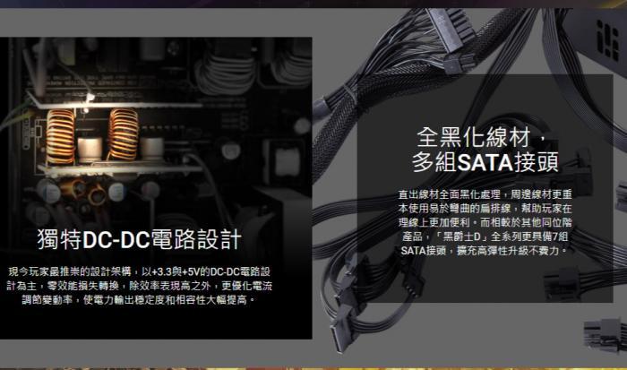全漢 黑爵士D 550W(金牌) HGD550